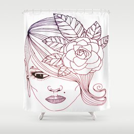 untitled 3 Shower Curtain