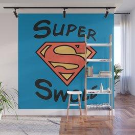 Super! Wall Mural