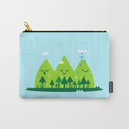 Monday Mountains Carry-All Pouch