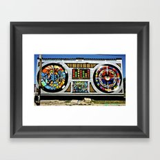 Ever Lasting Bass Framed Art Print