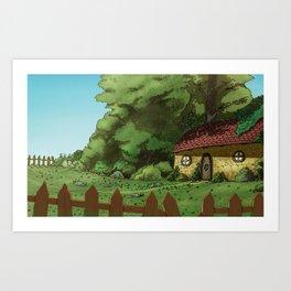 shamrock's Kingdom Art Print