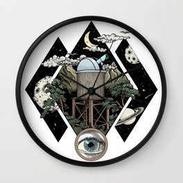 Through the looking glass and what i found there Wall Clock