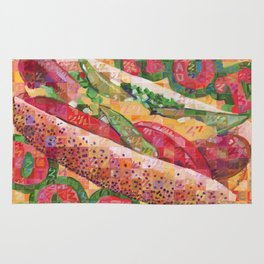 Hot Dog (Chicago Style) Rug