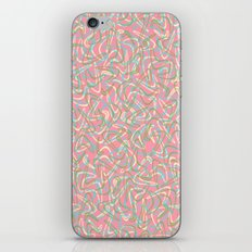 Boomerang Pink iPhone & iPod Skin