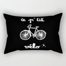 Le petit vélo Rectangular Pillow