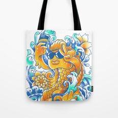 Selfie-ish Fishtail-ish Tote Bag