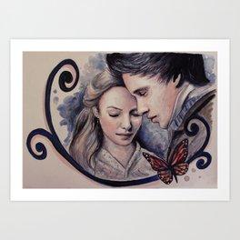 Marius Cosette Art Print