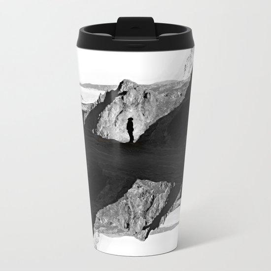 Man of isolation Metal Travel Mug