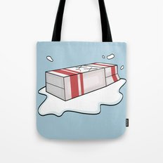 Spilt Milk Tote Bag