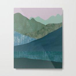 Mountain River #1 Metal Print