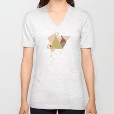 Exploding Triangles//Three Unisex V-Neck
