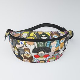 Face Mask Party Fanny Pack