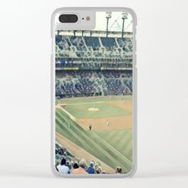 Take me out to the Ballgame! Clear iPhone Case