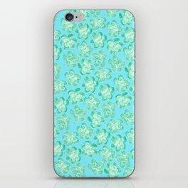 Wallflower - Tea Teal iPhone Skin