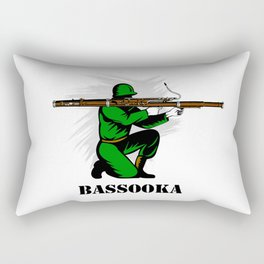 Bassoon Bassooka Rectangular Pillow