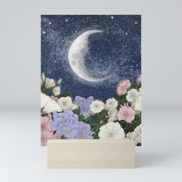 Moonlight in the Garden Colour Version Mini Art Print