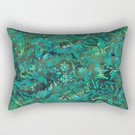 Watercolor Damask Pattern 05 Rectangular Pillow