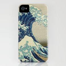The Great Wave off Kanagawa iPhone (4, 4s) Slim Case