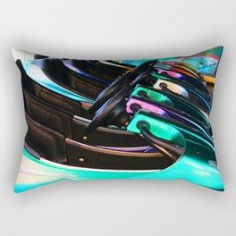 Autoscooter Rectangular Pillow