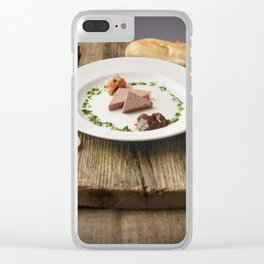 Pate Anyone? Clear iPhone Case