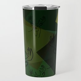 Buck Collage Travel Mug
