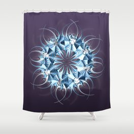 Wreath, mandala, star, flower, snowflake...? Shower Curtain