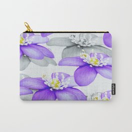 Spring Forest Blue Flowers #decor #society6 #buyart Carry-All Pouch