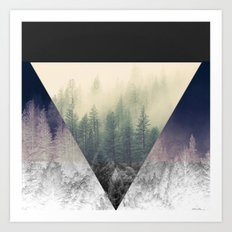 Inverted Forest Art Print