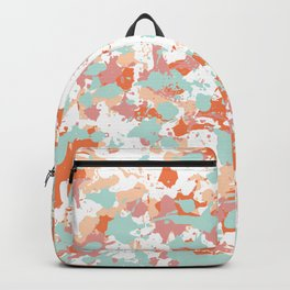 Freestyle Paint Summer Colors Backpack