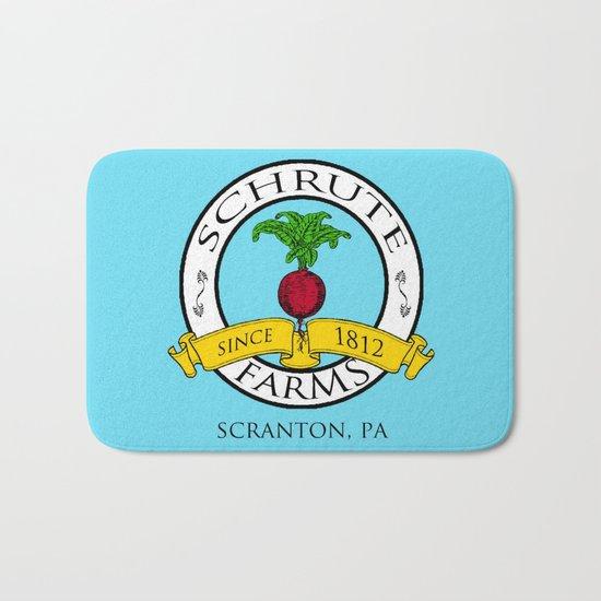 Schrute Farms   The Office - Dwight Schrute Bath Mat