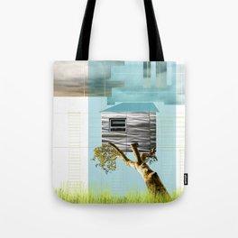 Urban Tree House Tote Bag