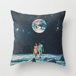 I promise You we will be Back Soon Throw Pillow