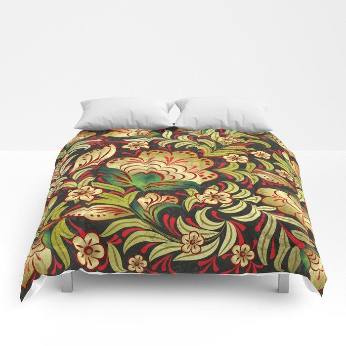 Shabby flowers #6 Comforters