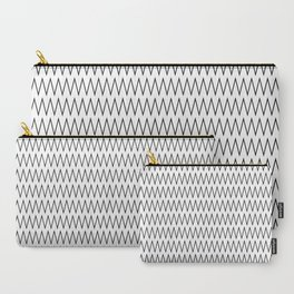 Minimalist Chevron Carry-All Pouch