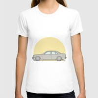 mercedes T-shirts featuring Mercedes-Benz 190E 2.5 Cosworth vector illustration by Underground Worm