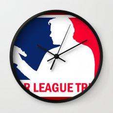 Major League Trekkie Wall Clock