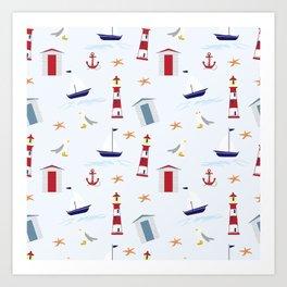 Nautical Art Print