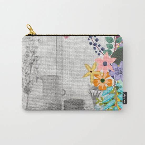 Flowers bouquet #12 Carry-All Pouch