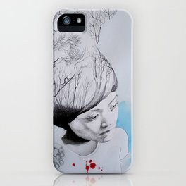 Hidden trees iPhone Case