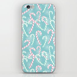 Frosty Canes iPhone Skin