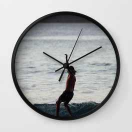 Side Steppin Wall Clock