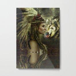spirit animal Metal Print