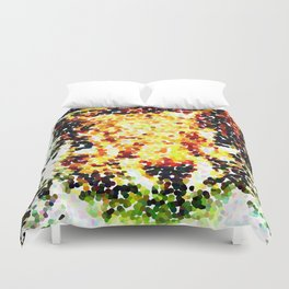 The other faces of Squirrel 3 Duvet Cover