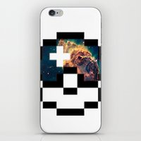 pokeball iPhone & iPod Skins featuring Pokeball Galaxy by Oscar Da Chef Karlsson