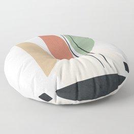Minimal Shapes No.59 Floor Pillow