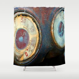 Old Speed Shower Curtain