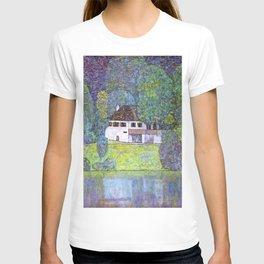 "Gustav Klimt ""Schloss Kammer on the Attersee III"" T-shirt"