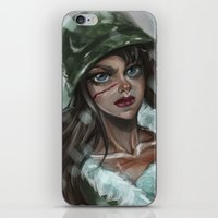 the winter soldier iPhone & iPod Skins featuring Winter Soldier by Soggykitten™