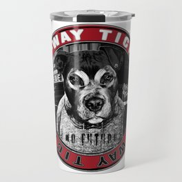 Dog in the City (one-way ticket) Travel Mug