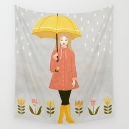 showers & flowers Wall Tapestry